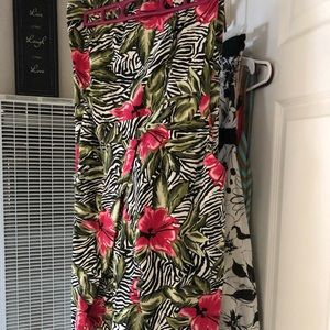 Torrid strapless dress with pockets!